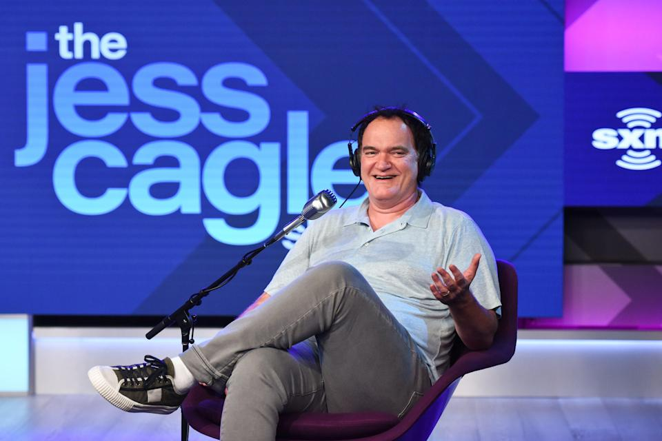Quentin Tarantino (Getty Images for SiriusXM)