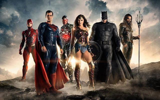 The heroes of the 'Justice League' assemble (Photo: Warner Bros.)