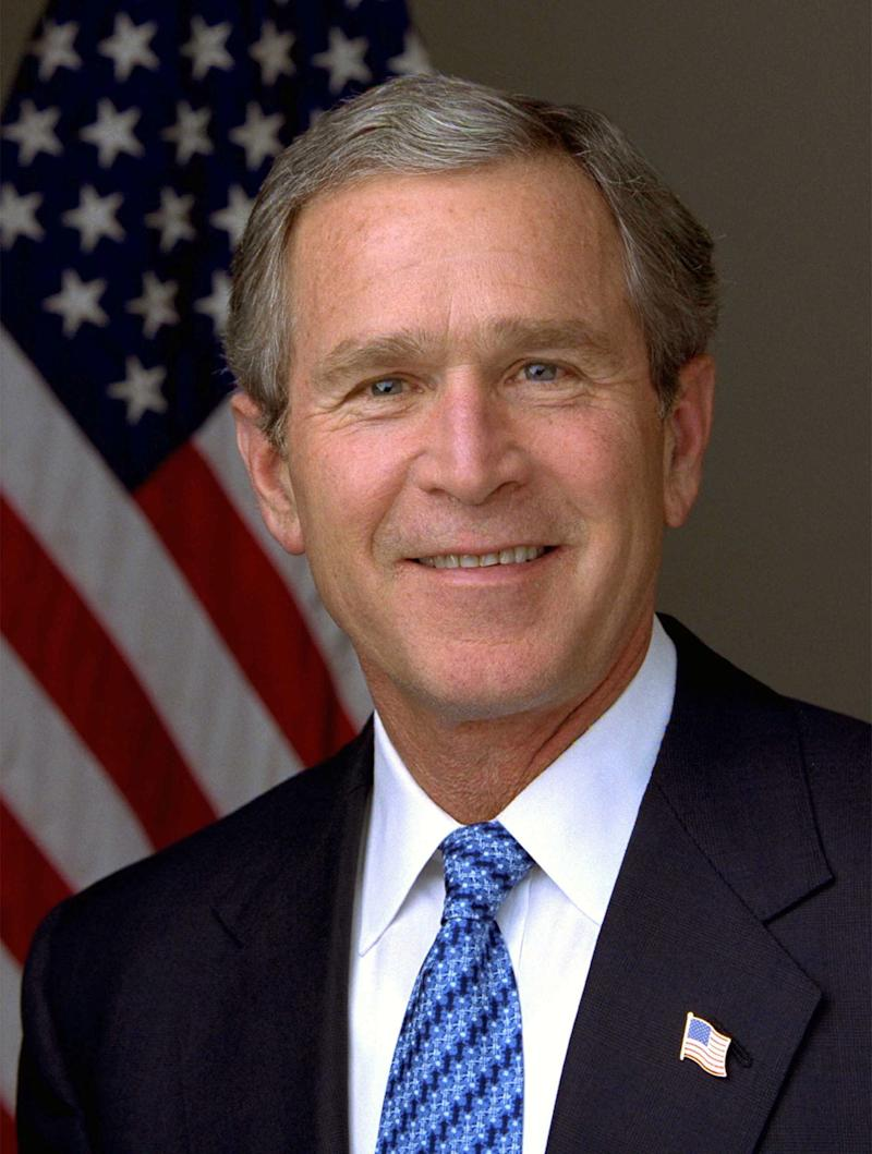 George Walker Bush, 43rd President of the United States (2001-2009) and 46th Governor of Texas (1995-2000). (Photo by: Photo12/Universal Images Group via Getty Images)