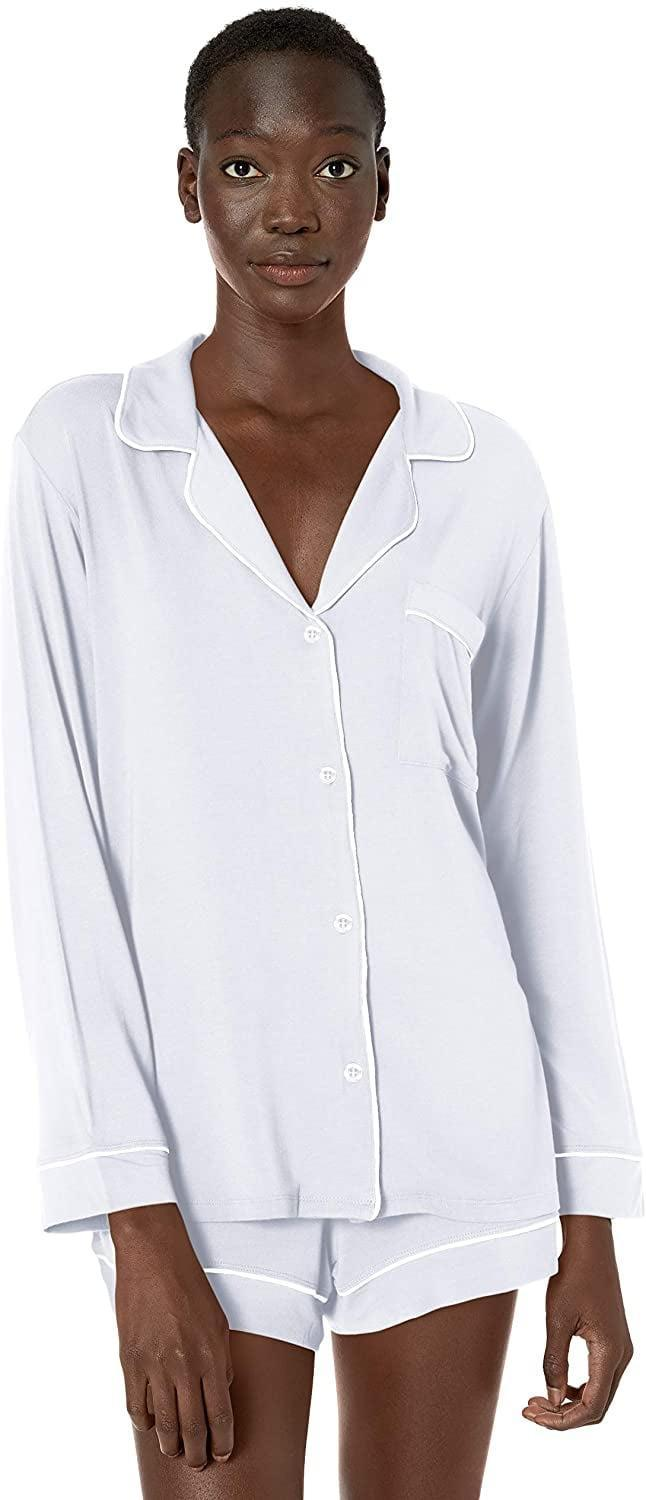 <p>You can't go wrong gifting this comfy <span>Eberjey Gisele Long Sleeve and Short Pj Set</span> ($115).</p>
