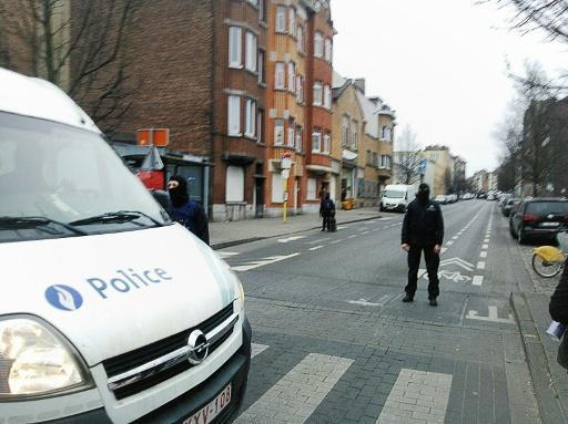 Paris attacks fugitive Abdeslam's fingerprints found in Brussels raid flat