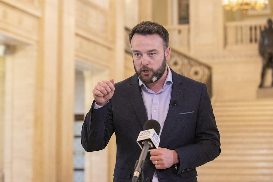 SDLP leader Colum Eastwood branded the proposals 'perverse' (Liam McBurney/PA) (PA Wire)