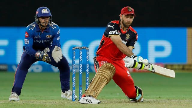 Glenn Maxwell starred with both bat and ball as the Royal Challengers Bangalore put in an all-round performance to beat Mumbai Indians by 54 runs. SportzPics