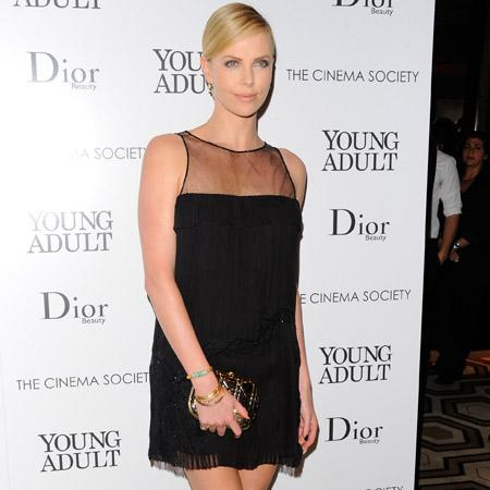 Charlize Theron 'protective of son'