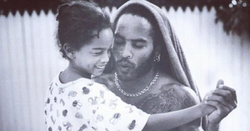 The Absolute Sweetest Throwback Photos of Lenny and Zoë Kravitz