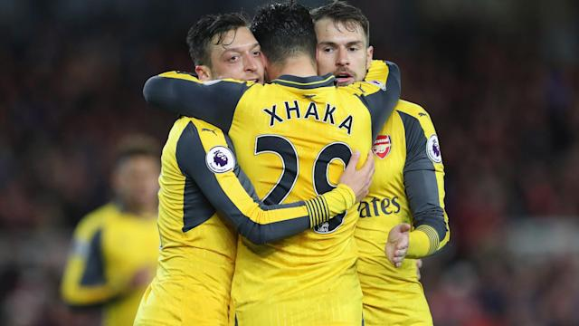 With the Gunners having endured a tough time over recent weeks, there was finally some welcome relief on the road as they edged out Middlesbrough