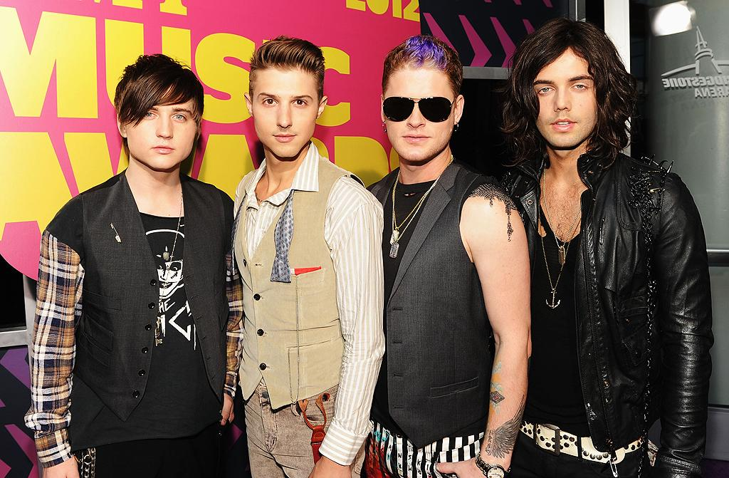 """Pop rockers Hot Chelle Rae -- best known for their Billboard Top 10 hit """"Tonight Tonight"""" -- brought their edgy sense of style to the star-studded event. Later in the evening, the boys surprised many by joining forces with Lady Antebellum on stage."""