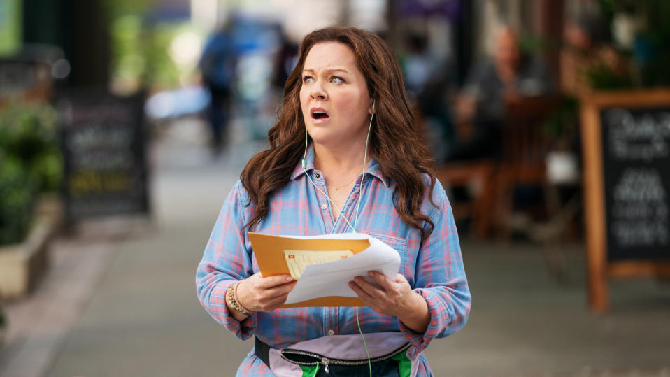 Melissa McCarthy as Carol Peters in 'Superintelligence'. (Credit: Hopper Stone/Warner Bros)