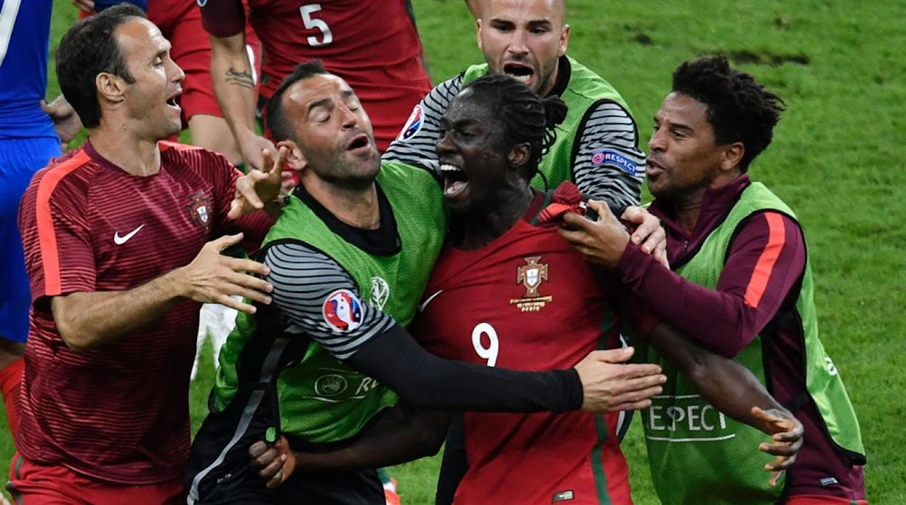 "<p>LISBON, Portugal (AP) – Portugal is going to the Confederations Cup without Eder, its goal-scoring hero in the final of the European Championship, and <a rel=""nofollow"" href=""https://www.si.com/planet-futbol/2017/05/16/top-20-under-20-world-soccer?sdf#planet-futbol/2017/05/16/renato-sanches-bayern-munich-portugal"">rising star Renato Sanches</a>.</p><p>Coach Fernando Santos left the pair off his 24-man squad on Thursday for a friendly against Cyprus, a World Cup qualifier against Latvia and the Confederations Cup in Russia next month.</p><p>Eder and Sanches were the conspicuous absences in the squad that will be led by Cristiano Ronaldo.</p><p>A year ago, Eder, a substitute, scored in extra time to give his team a 1-0 win over France and the European title.</p><p>Young midfielder Sanches was talked about at that tournament as a possible heir to Ronaldo and subsequently earned a high-profile transfer from Benfica to Bayern Munich, where he hasn't featured regularly. Sanches was instead included in the Portugal Under-21s.</p><p>Portugal hosts Cyprus on June 3 and plays at Latvia in a World Cup qualifier on June 9. Four days later, Portugal travels to Russia where it plays its first Confederations Cup game against Mexico on June 18. The Portuguese will also meet Russia and New Zealand in the group stage.</p><p>Here is the Portugal squad in full:</p><p><strong>GOALKEEPERS</strong>: Rui Patricio (Sporting Lisbon), Beto (Sporting), Jose Sa (FC Porto)</p><p><strong>DEFENDERS</strong>: Bruno Alves (Cagliari), Cedric Soares (Southampton), Eliseu (Benfica), Nelson Semedo (Benfica), Jose Fonte (West Ham), Luis Neto (Zenit St. Petersburg), Pepe (Real Madrid), Raphael Guerreiro (Borussia Dortmund)</p><p><strong>MIDFIELDERS</strong>: Adrien Silva (Sporting), Andre Gomes (Barcelona), Danilo Pereira (FC Porto), Joao Mario (Inter Milan), Joao Moutinho (Monaco), Pizzi (Benfica), William Carvalho (Sporting Lisbon)</p><p><strong>FORWARDS</strong>: Andre Silva (FC Porto), Bernardo Silva (Monaco), Cristiano Ronaldo (Real Madrid), Gelson Martins (Sporting Lisbon), Ricardo Quaresma (Besiktas), Nani (Valencia)</p>"