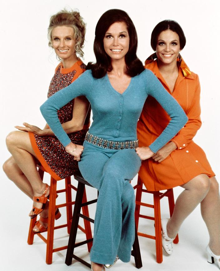 Image: Cloris Leachman, Mary Tyler Moore and Valerie Harper (CBS Photo Archive / via Getty Images)