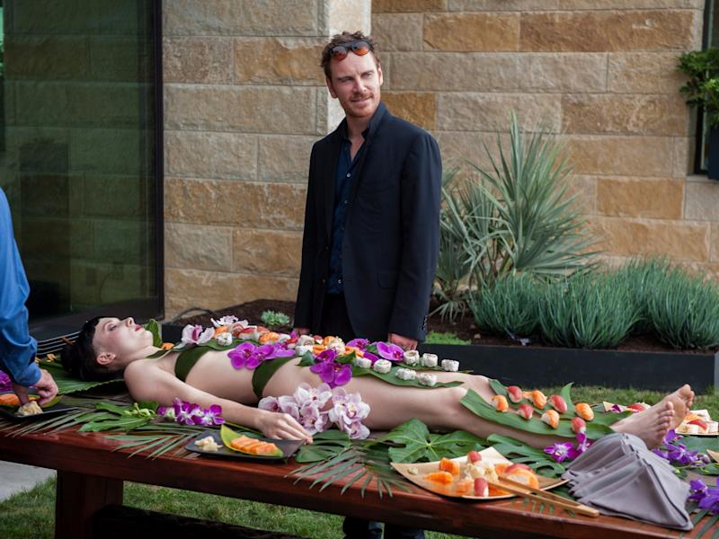 song to song michael fassbender sushi