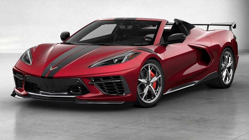 2020 Chevy Corvette Stingray Convertible most expensive version