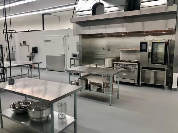 The Sprout Kitchen Food Hub opened this week to food producers and processors across the Cariboo region. (Submitted by Amy Quarry - image credit)
