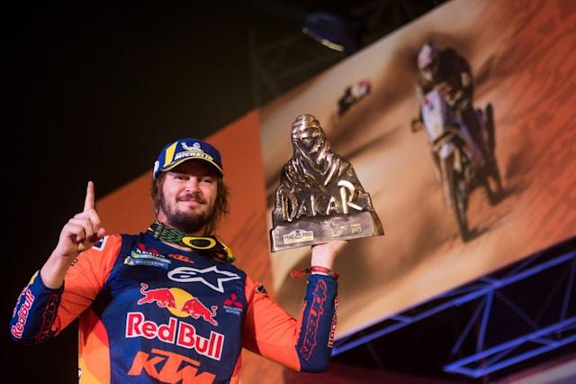 """Podio: #3 Red Bull KTM Factory Racing KTM: Toby Price <span class=""""copyright"""">Red Bull Content Pool</span>"""