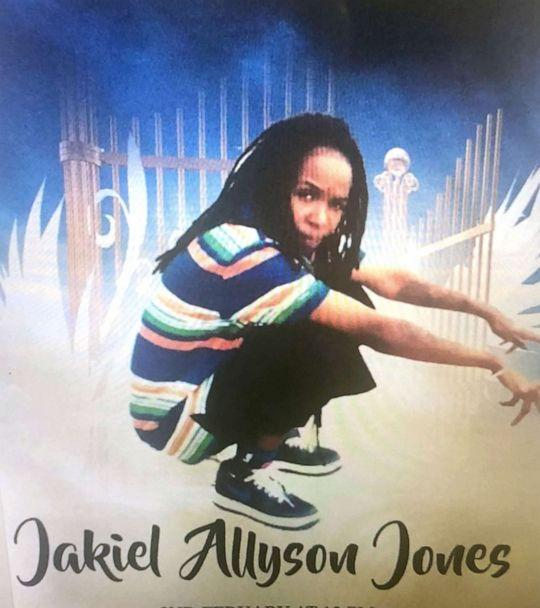PHOTO: Jakiel Jones is pictured in this undated image released by her family. (Family Photo)