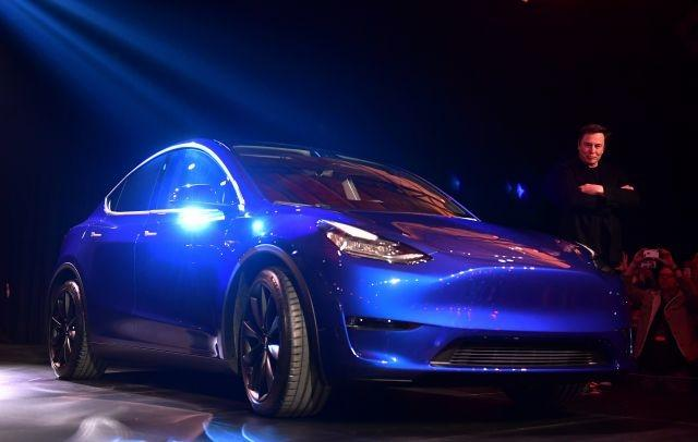 UPDATED PHOTO: Elon Musk's Tesla adds 'Model Y' SUV to line-up