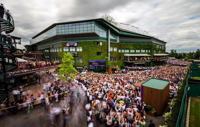 Manic Monday is a tradition at Wimbledon, where all fourth round singles matches are played on the same day