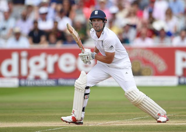 <p>Alastair Cook become the highest-scoring opening batsman ever as he made 81 against Pakistan in 2016, overtaking Indian opener Sunil Gavaskar. (Getty Images) </p>