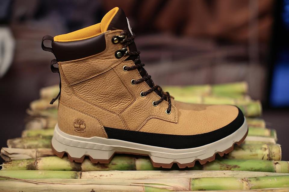 Timberland GreenStride TBL Originals Ultra Waterproof Boots. - Credit: Courtesy of Timberland