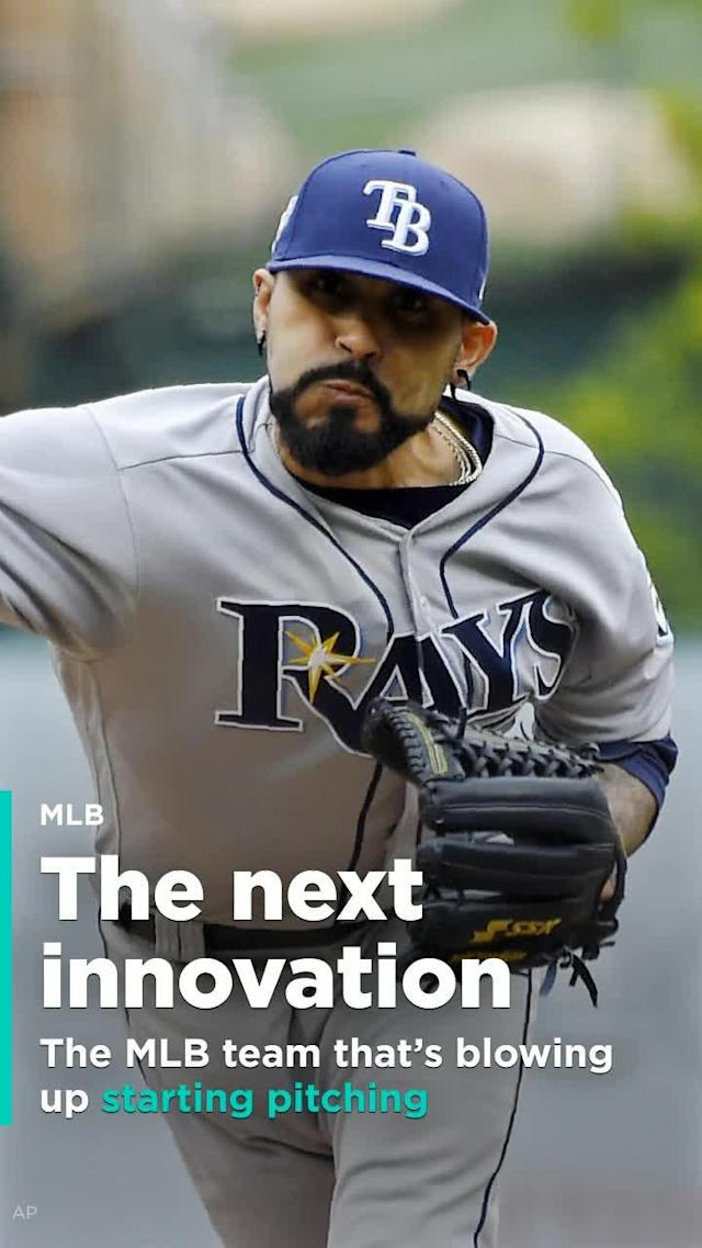 The Tampa Bay Rays used reliever Sergio Romo as their starting pitcher twice over the weekend against the Los Angeles Angels.