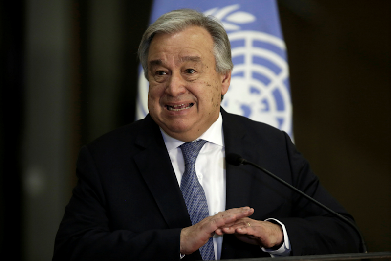 World Must Act by 2020 to Avoid Runaway Climate Change, Says UN chief Antonio Guterres