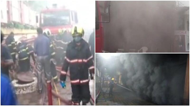 Mumbai Fire: Massive Blaze Erupts at Shopping Centre in Borivali West, Likely to be Doused in Next 2 Hours