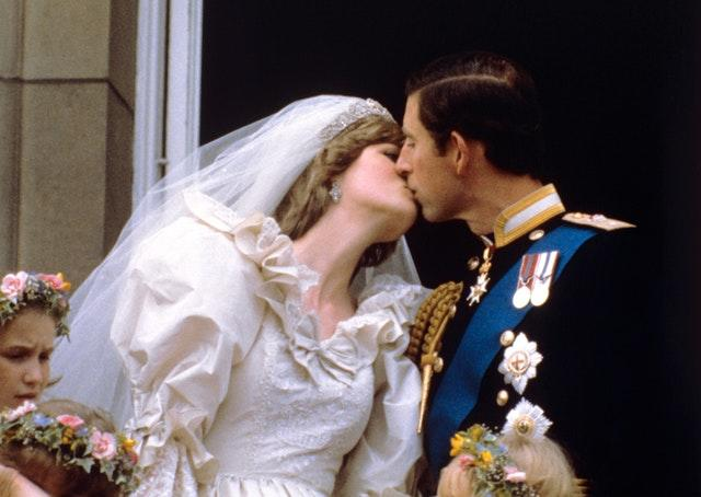 Charles and Diana's wedding day