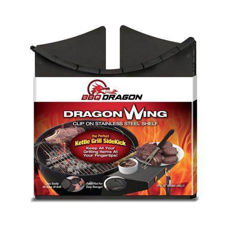 "<p><strong>BBQ Dragon</strong></p><p>walmart.com</p><p><strong>$31.28</strong></p><p><a href=""https://go.redirectingat.com?id=74968X1596630&url=https%3A%2F%2Fwww.walmart.com%2Fip%2F965052401&sref=https%3A%2F%2Fwww.delish.com%2Fcooking%2Fg32257577%2Fbest-grilling-accessories%2F"" rel=""nofollow noopener"" target=""_blank"" data-ylk=""slk:BUY NOW"" class=""link rapid-noclick-resp"">BUY NOW</a></p><p>If you have a smaller charcoal grill, you may not have the shelf space needed to keep your meats and tools nearby. This folding shelf changes the game and gives you a helping hand.</p>"