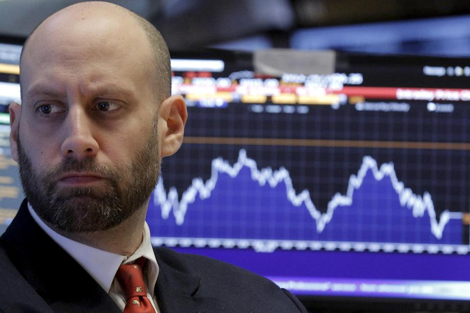 Stocks are having another bad day on Thursday as a wild week for markets continues.