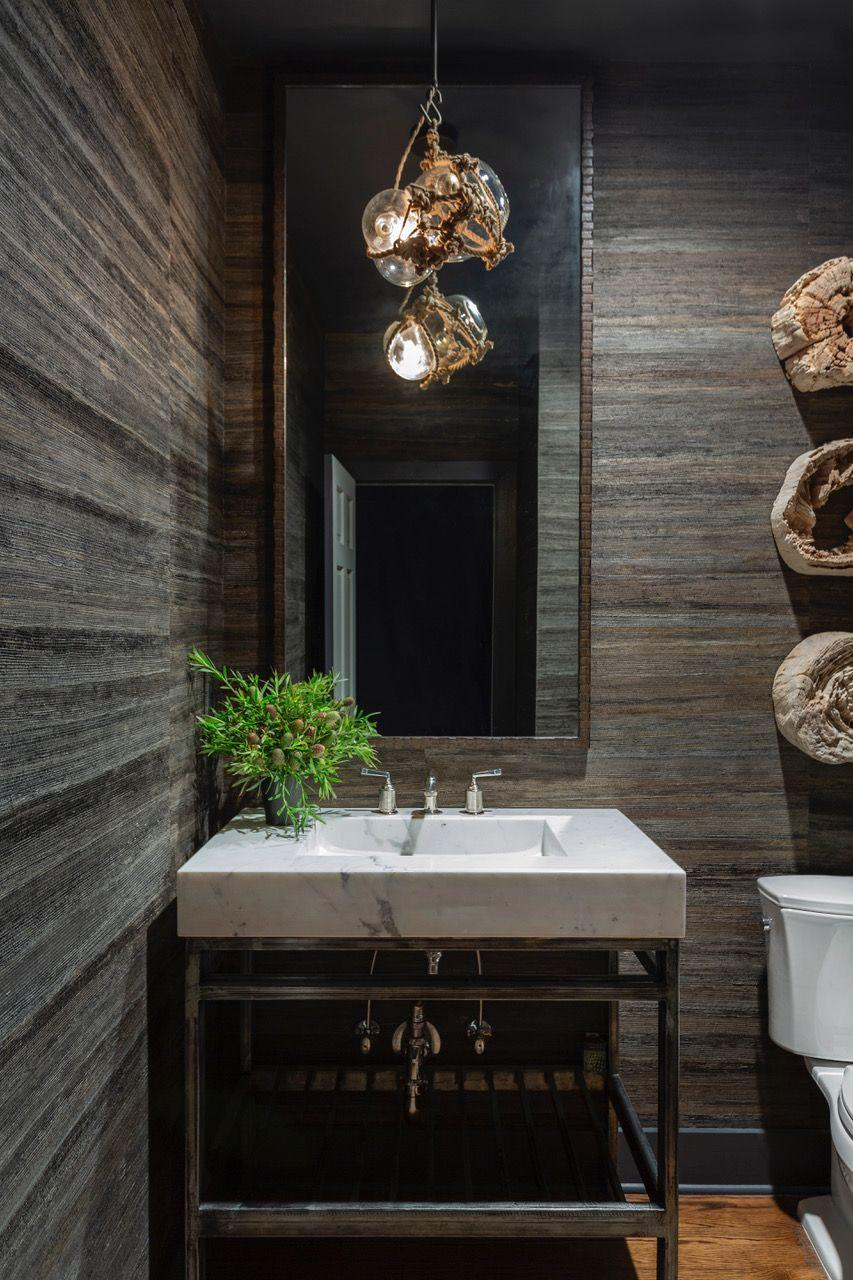<p><em>Grasscloth is a great way to add depth to spaces such as bedrooms, powder rooms and dens. It's an incredibly versatile wall covering and offers a unique, naturally derived texture. I like to use darker grasscloth to create a moody, organic environment in more intimate areas of the home.</em> </p><p><br>Sean Anderson</p>