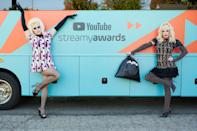 <p><em>RuPaul's Drag Race</em> alums Trixie Mattel and Katya hosted YouTube's Streamy Awards 2020 in Los Angeles.</p>