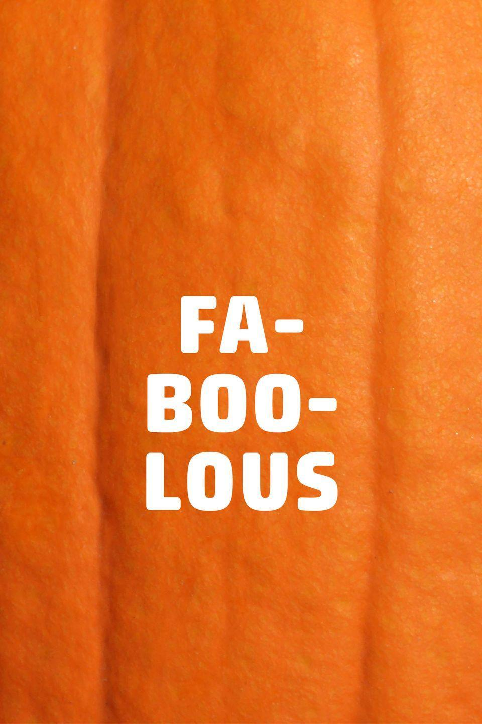 <p>What do you call a stylish ghost? Fa-boo-lous!</p>
