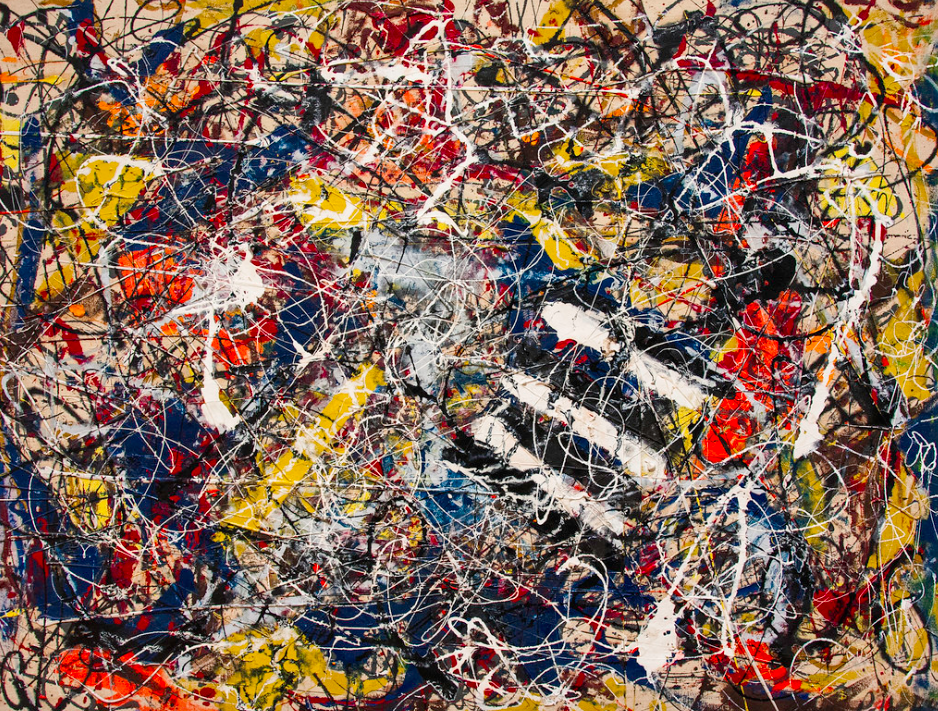 <p>5. Number 17A – Jackson Pollock (1948). Sold for: £162.9m. The abstract American painter's work was snapped up by hedge fund manager Kenneth C. Griffin in 2015. (Pic: Wiki Commons) </p>