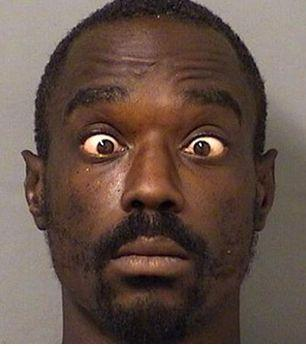 """Jefferson King had a whopper of a mug shot after he was arrested for allegedly masturbating at a Burger King in West Palm Beach, Florida. A woman said she saw King touching himself near the restrooms. She told police when she asked King what he was doing, he replied, <a href=""""http://www.huffingtonpost.com/entry/florida-man-arrested-for-masturbating-at-burger-king_55ef2690e4b093be51bc5f50?utm_hp_ref=mug-shots"""" target=""""_blank"""">""""What? I'm playing with my penis!""""</a>"""