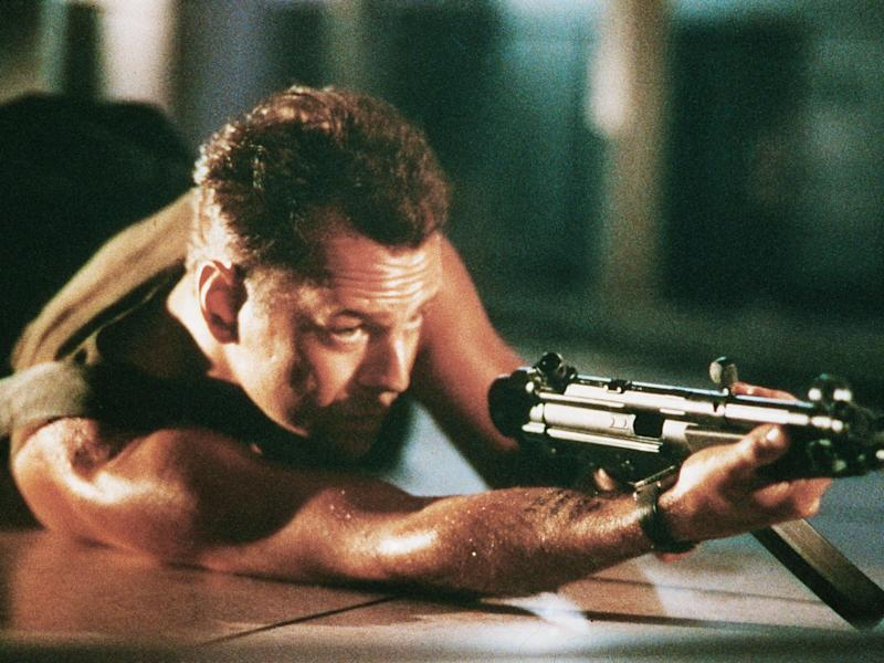 Bruce Willis was able to capture the black humour that arises in life-threatening situations: Rex