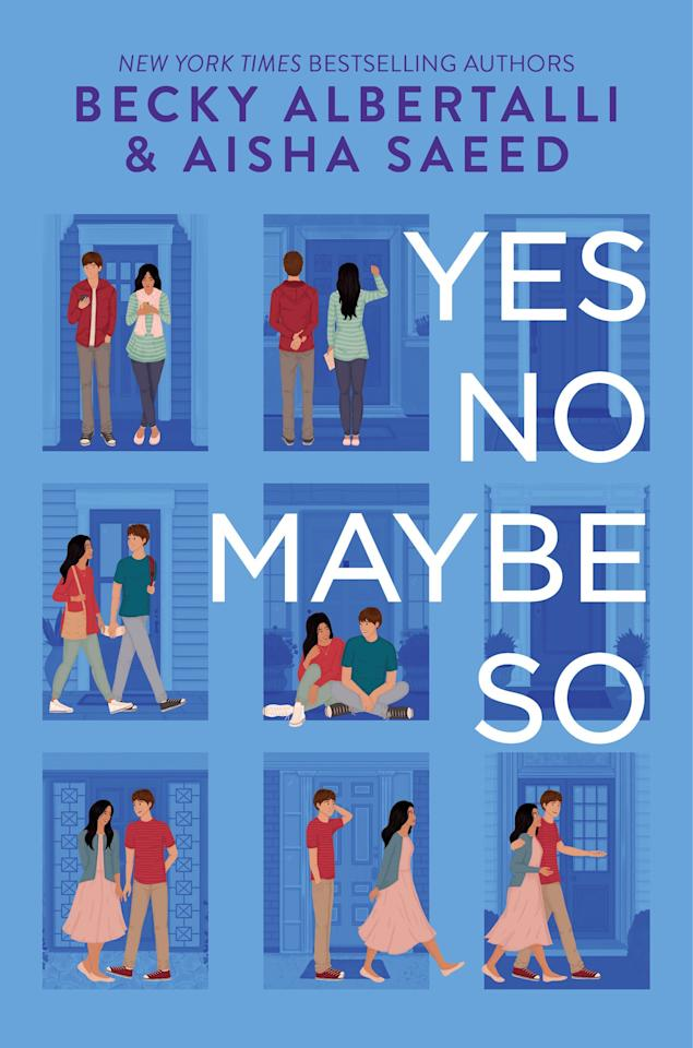 """$15, Amazon. <a href=""""https://www.amazon.com/Yes-No-Maybe-Becky-Albertalli/dp/0062937049/"""">Get it now!</a>"""