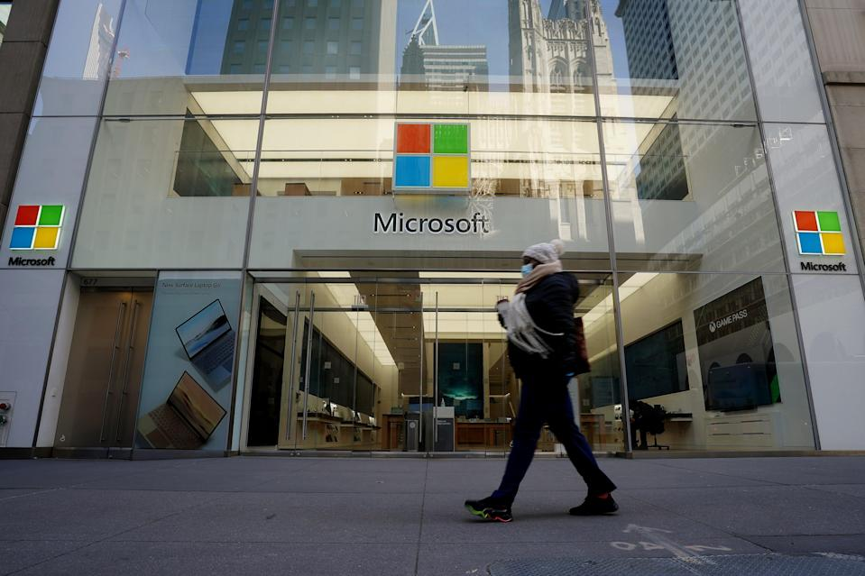 <p>Microsoft's performance has raised the bar </p> (Reuters)