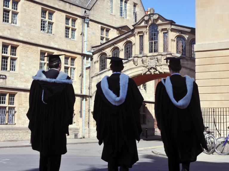 """The number of Chinese students applying for places at British universities has overtaken those from Northern Ireland for the first time, official figures show.Chinese applicant numbers for degrees starting in autumn surged by 30 per cent to 19,760 this year, while the number of applicants from Northern Ireland fell by 4 per cent to 18,520, Ucas data reveals.Applications from outside the European Union reached a record number of 81,340, up by 8 per cent on last year, according to the latest report from the university admissions service. The figures taken from Ucas's June deadline, which is the last chance to apply to five universities or colleges simultaneously, also show a 1 per cent rise in EU applicants despite fears over Brexit.A fall in the pound since the referendum vote may have contributed to a rise in applications from international and EU students, experts have suggested, as it makes Britain a cheaper place to study.In England, a record 39.5 per cent of all 18-year-olds applied to study at a UK university – an increase from 38.1 per cent at the same time last year.The number of young people from the UK applying to a British university has also risen by 1 per cent – despite a 1.9 per cent fall in the overall number of 18-year-olds in the UK population.Clare Marchant, chief executive of Ucas, said: """"The global appeal of UK higher education has never been clearer, with record, demographic-beating application rates in England and Wales, and the steep rise in international applications, especially from China.""""Nick Hillman, director of think tank the Higher Education Policy Institute, said: """"Chinese students appreciate our world-class universities, want to learn in English and have benefited from the reduction in the value of the pound since 2016.""""It is fantastic that so many Chinese students want to come here because they make our universities better and more diverse.""""But he warned: """"It does mean a chunky source of university income is very sensitive to the stre"""