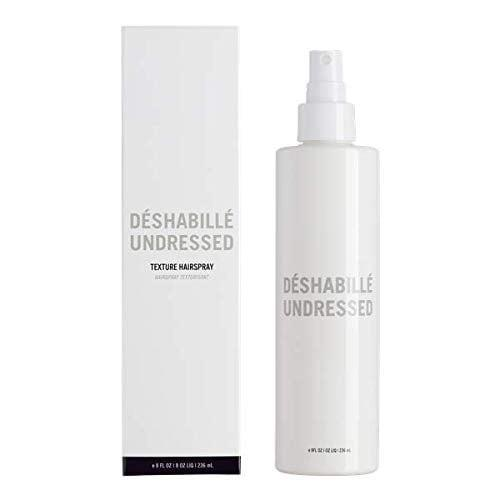<p>This <span>Hairstory Undressed Light Hold Texturizing Spray For Dry Volume</span> ($38) is like a salt spray without the salt, so it can be used to create beachy waves without stripping away moisture.</p>