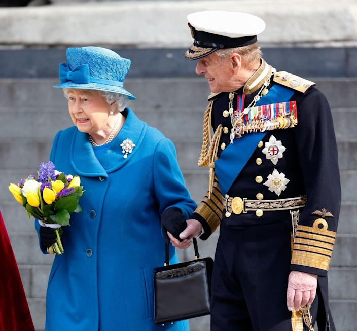"""<p>Elizabeth and Philip do not share the same bedroom, but instead have connecting bedrooms. It's always been that way for them, even when they lived in Clarence House. According to their cousin <a href=""""https://www.vanityfair.com/style/society/2012/01/queen-elizabeth-201201"""" rel=""""nofollow noopener"""" target=""""_blank"""" data-ylk=""""slk:Lady Pamela Mountbatten"""" class=""""link rapid-noclick-resp"""">Lady Pamela Mountbatten</a>, """"In England the upper class have always had separate bedrooms. You don't want to be bothered with snoring, or someone flinging a leg around. Then when you are feeling cozy you share your room sometimes. It is lovely to be able to choose.""""</p>"""