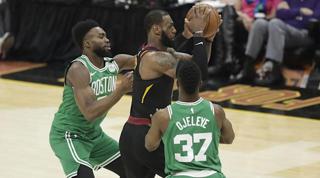 The Celtics' reliance on youth—their three leading scorers in the playoffs have a combined six years of experience—came to a head Saturday as Cleveland exposed them in nearly every facet to win a lopsided Game 3.