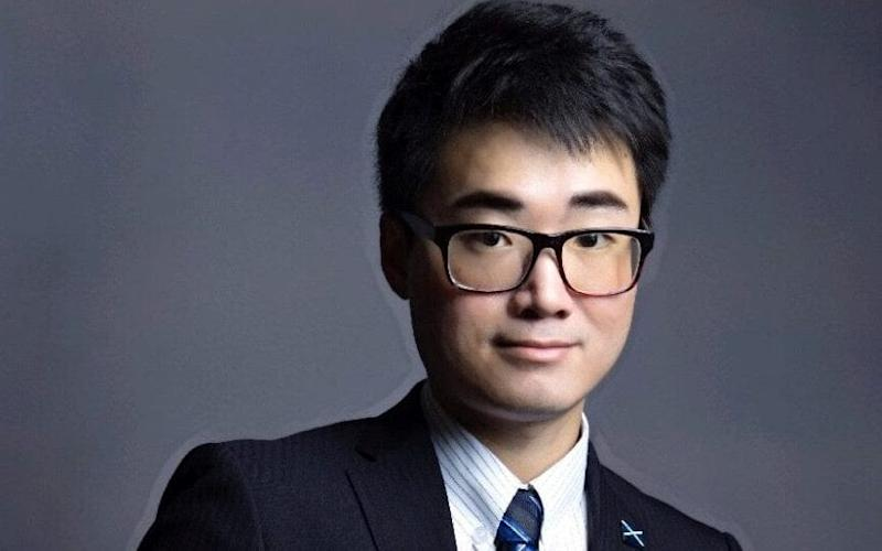 "Simon Cheng, a staff member of Britain's consulate in Hong Kong - ""FACEBOOK / FREE SIMON CHENG?"