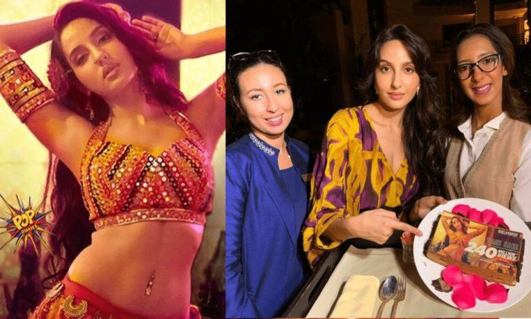 Sweet surprise for Nora Fatehi in Morocco : Photos Inside!