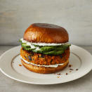 <p>These vegan sweet potato-black bean burgers spiced with curry powder are easy to make. Blending the mixture with your hands gives you a soft, uniform texture then the outside gets crispy by cooking in a cast-iron pan. To make this recipe gluten-free too, use gluten-free oats and serve the patty in a lettuce wrap, omitting the bun.</p>