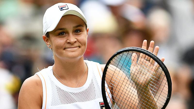 Ash Barty says she doesn't feel any added pressure as No.1.