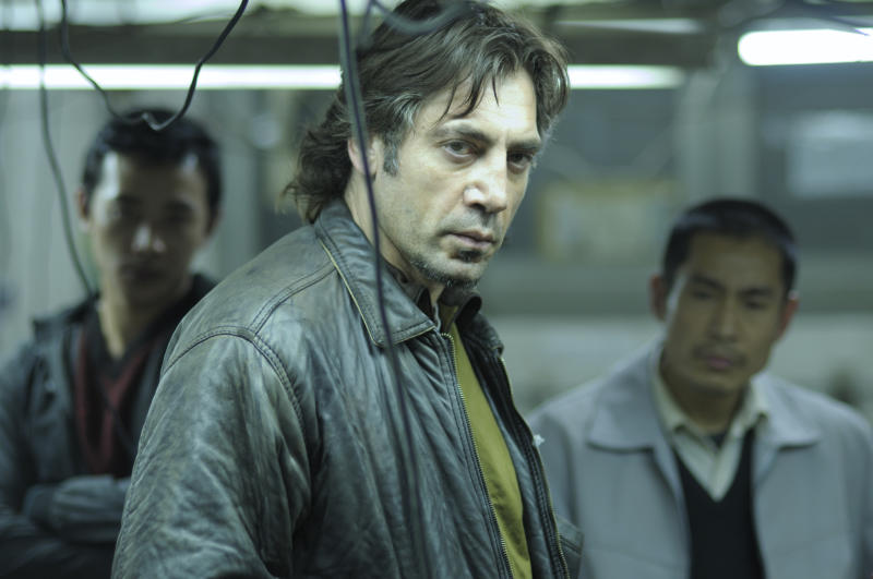 "In this photo provided by Roadside Attractions, Javier Bardem, as Uxbal, is shown in a scene from ""Biutiful."" The film was nominated for an Academy Award for best foreign film, Tuesday, Jan. 25, 2011. The Oscars will be presented Feb. 27 at the Kodak Theatre in Hollywood. (AP Photo/Roadside Attractions, Jose Haro) NO SALES"