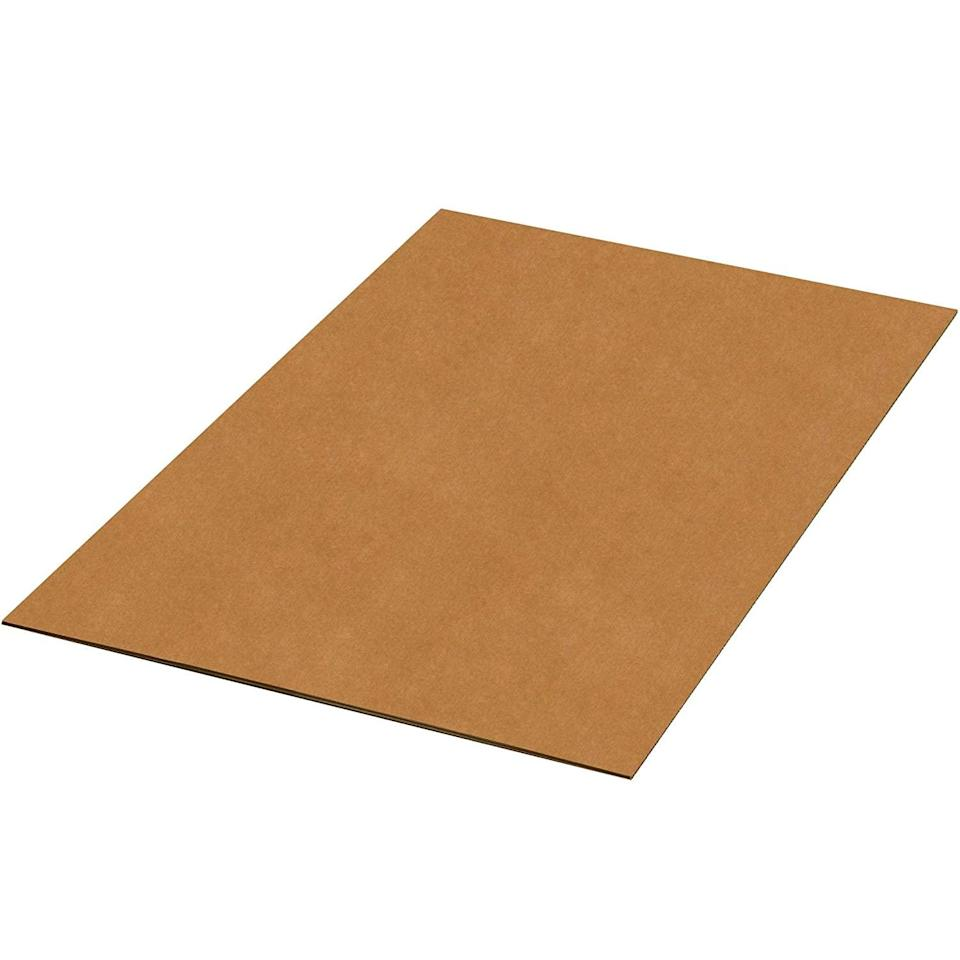 Double Wall Corrugated Sheets, 36 x 48 inch, pack of 5