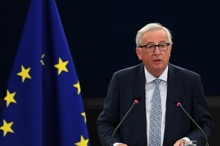 European Commission President Jean-Claude Juncker voiced support for the parliament's action