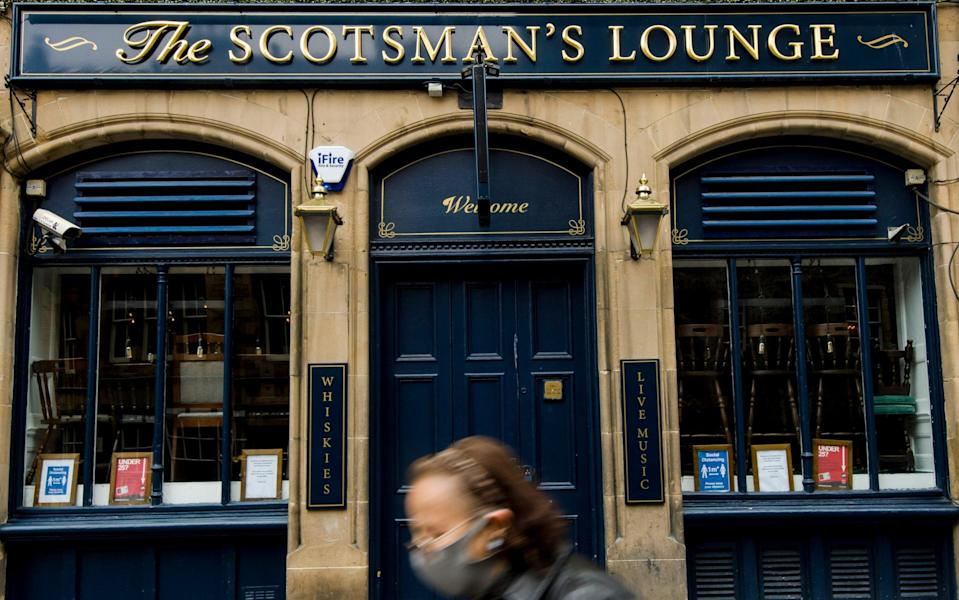 Scotland's First Minister, Nicola Sturgeon, has announced a new five-tier lockdown system under which thousands of pubs and restaurants face damaging restrictions - Euan Cherry