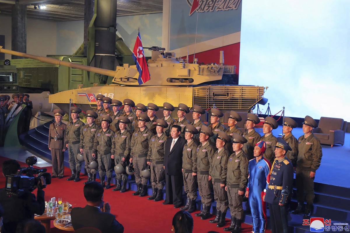 , North Korean soldier in blue generate buzz on social media, The Evepost National News